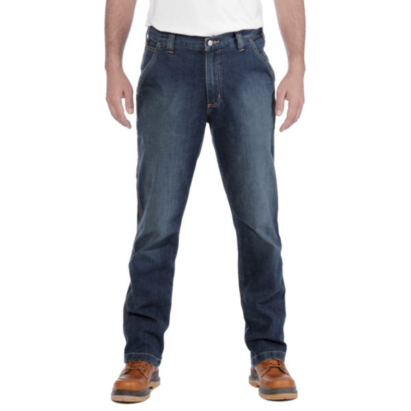 RUGGED FLEX RELAXED DUNGAREE JEAN