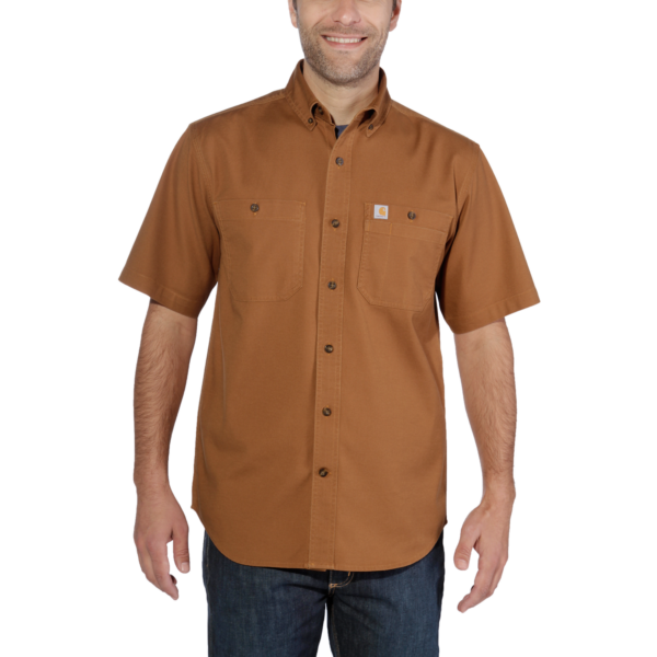 LW RIGBY SOLID S/S SHIRT