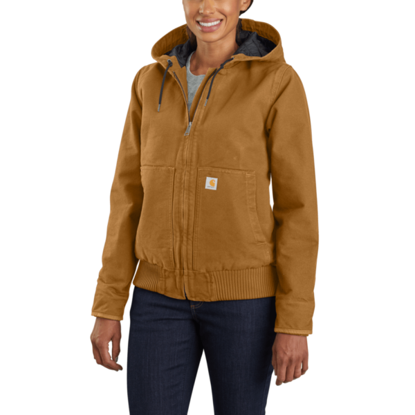(WOMEN) WASHED DUCK ACTIVE JACKETS