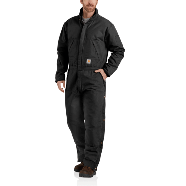 WASHED DUCK INSULATED COVERALL
