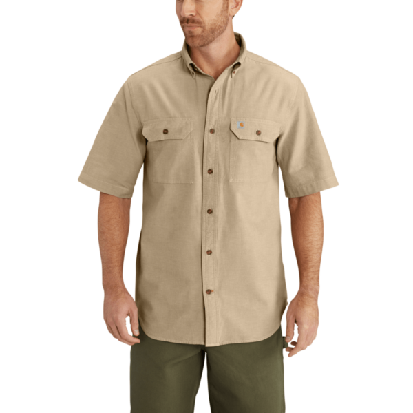 S/S FORT SOLID SHIRT