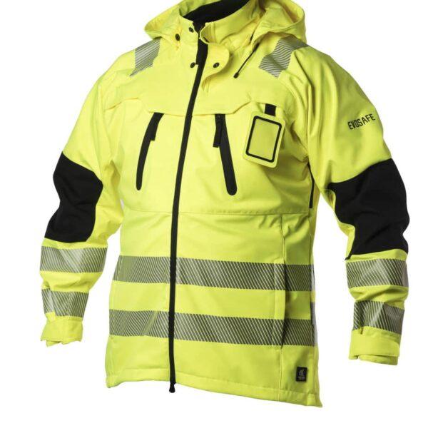 EVOSAFE Softshell Jacket F119 - Hi-Vis