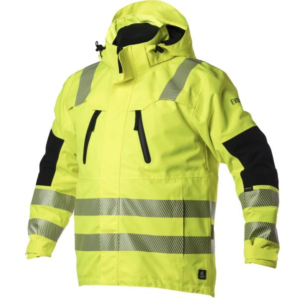 EVOSAFE All weather jacket - Hi-Vis