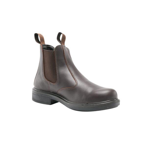 Randwick elastic-sided pull-on boot