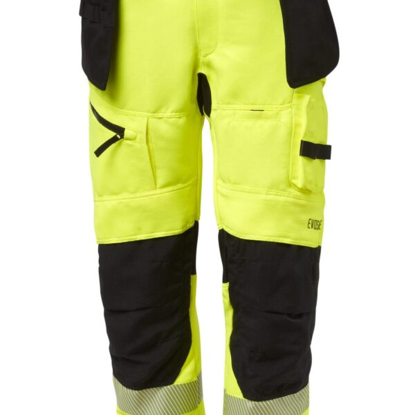 EVOSAFE Safety trouser w/detachable Pocket - Hi-Vis
