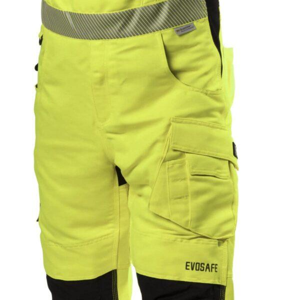 EVOSAFE Safety Bib trouser - HI-VIS