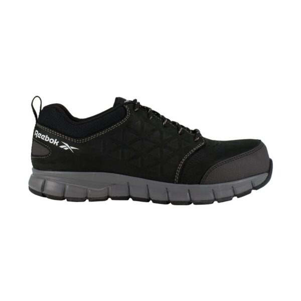 BLACK LEATHER OXFORD - 1S3