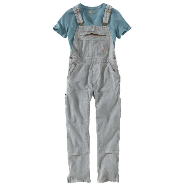 RELAXED FIT DENIM BIB OVERALL