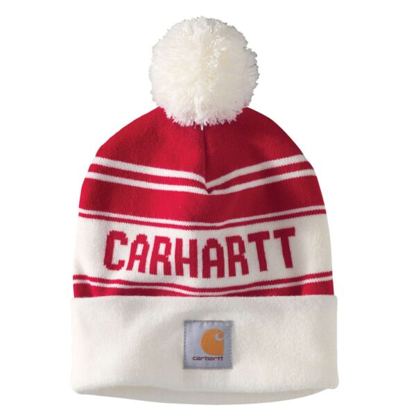 Carhartt - Knit Cuffed Logo Beanie